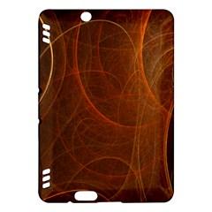 Fractal Color Lines Kindle Fire HDX Hardshell Case