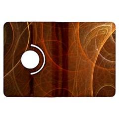 Fractal Color Lines Kindle Fire HDX Flip 360 Case