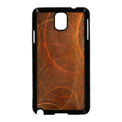 Fractal Color Lines Samsung Galaxy Note 3 Neo Hardshell Case (Black)