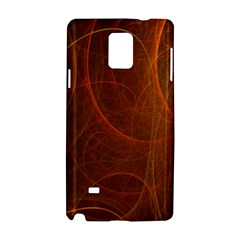 Fractal Color Lines Samsung Galaxy Note 4 Hardshell Case