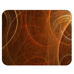 Fractal Color Lines Double Sided Flano Blanket (medium)