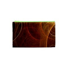 Fractal Color Lines Cosmetic Bag (XS)