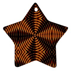 Fractal Patterns Ornament (Star)