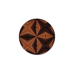 Fractal Patterns Golf Ball Marker