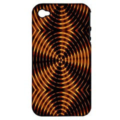 Fractal Patterns Apple iPhone 4/4S Hardshell Case (PC+Silicone)