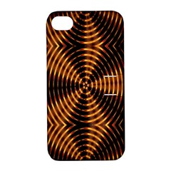 Fractal Patterns Apple Iphone 4/4s Hardshell Case With Stand