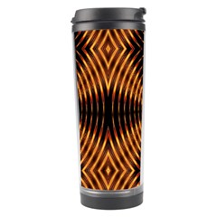 Fractal Patterns Travel Tumbler