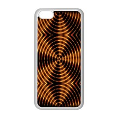 Fractal Patterns Apple iPhone 5C Seamless Case (White)