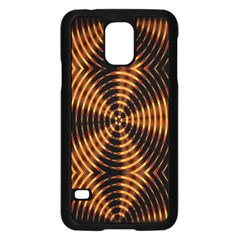 Fractal Patterns Samsung Galaxy S5 Case (Black)