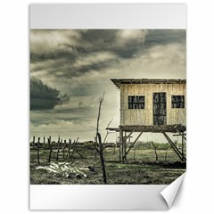 Traditional Cane House At Guayas District Ecuador Canvas 36  x 48