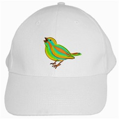 Bird White Cap