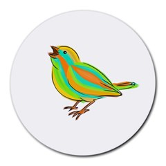Bird Round Mousepads