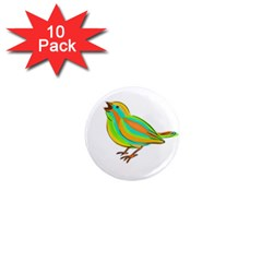 Bird 1  Mini Magnet (10 pack)