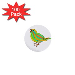Bird 1  Mini Buttons (100 pack)