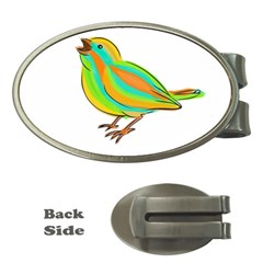 Bird Money Clips (Oval)