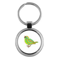 Bird Key Chains (Round)