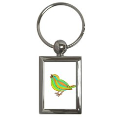 Bird Key Chains (Rectangle)