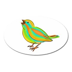 Bird Oval Magnet