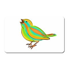 Bird Magnet (Rectangular)