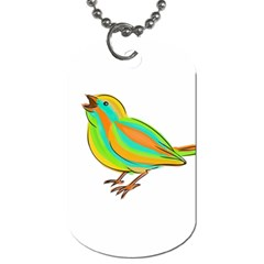 Bird Dog Tag (Two Sides)
