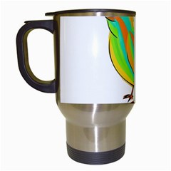 Bird Travel Mugs (White)