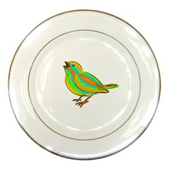 Bird Porcelain Plates