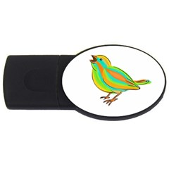 Bird USB Flash Drive Oval (4 GB)