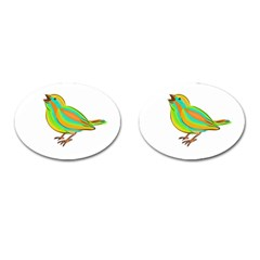 Bird Cufflinks (Oval)