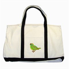 Bird Two Tone Tote Bag
