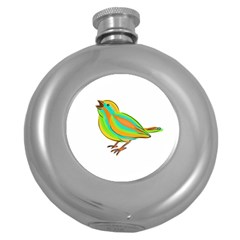 Bird Round Hip Flask (5 oz)