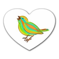 Bird Heart Mousepads