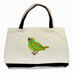 Bird Basic Tote Bag (Two Sides)