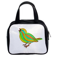 Bird Classic Handbags (2 Sides)