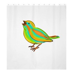 Bird Shower Curtain 66  x 72  (Large)