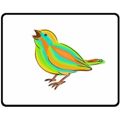 Bird Fleece Blanket (Medium)