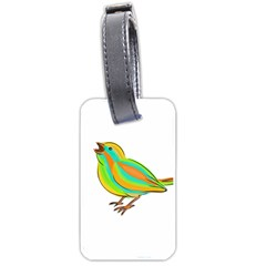 Bird Luggage Tags (Two Sides)