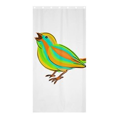 Bird Shower Curtain 36  x 72  (Stall)