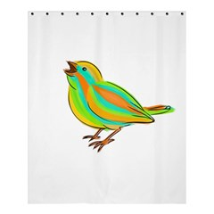 Bird Shower Curtain 60  x 72  (Medium)
