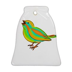 Bird Bell Ornament (Two Sides)