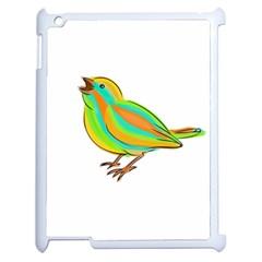 Bird Apple iPad 2 Case (White)