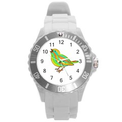 Bird Round Plastic Sport Watch (L)