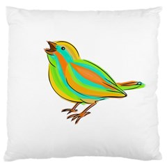 Bird Large Cushion Case (Two Sides)