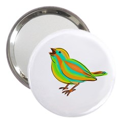 Bird 3  Handbag Mirrors
