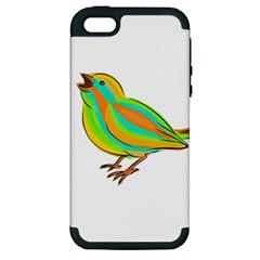 Bird Apple iPhone 5 Hardshell Case (PC+Silicone)