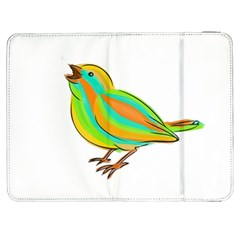 Bird Samsung Galaxy Tab 7  P1000 Flip Case