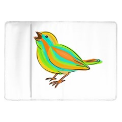 Bird Samsung Galaxy Tab 10.1  P7500 Flip Case