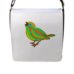 Bird Flap Messenger Bag (L)