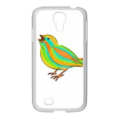 Bird Samsung GALAXY S4 I9500/ I9505 Case (White)