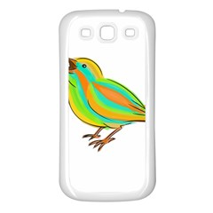 Bird Samsung Galaxy S3 Back Case (White)