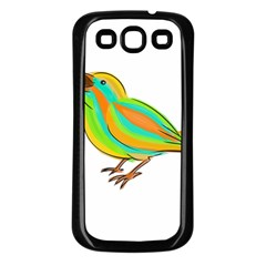 Bird Samsung Galaxy S3 Back Case (Black)